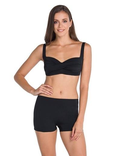 Dagi Toparlayıcı Bikini Takım Siyah